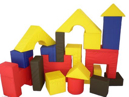 leseckem bel bausteine mit kunstlederbezug bewegungslandschaft f r kindergarten. Black Bedroom Furniture Sets. Home Design Ideas