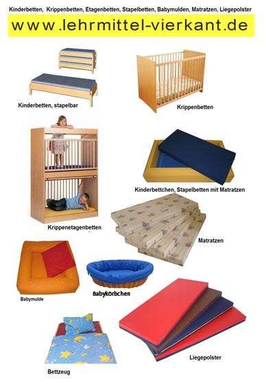 kinderbetten kaufen stapelliege stapelliegen f r kindergarten kinderbetten krippenbetten. Black Bedroom Furniture Sets. Home Design Ideas