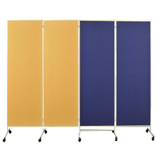 raumteiler textil oberfl che trennwand mobil paravent. Black Bedroom Furniture Sets. Home Design Ideas