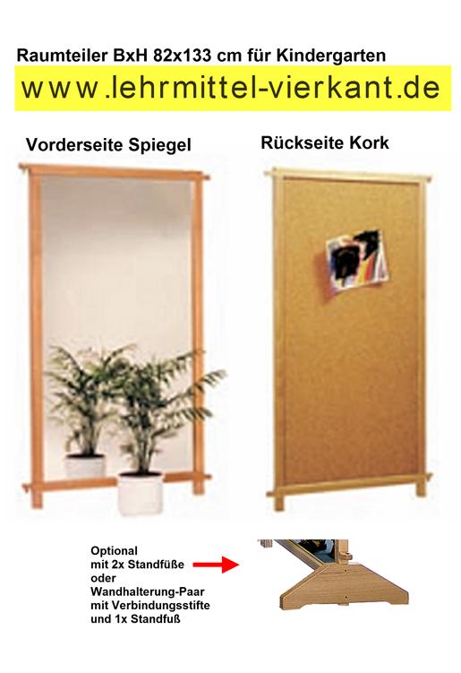 raumteiler mit spiegel kindergartenm bel raumteiler. Black Bedroom Furniture Sets. Home Design Ideas